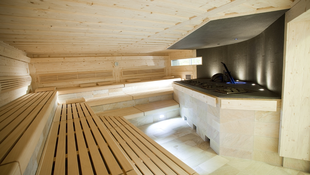 Winzer-Sauna im Mineralbad Leuze Stuttgart - Völlger